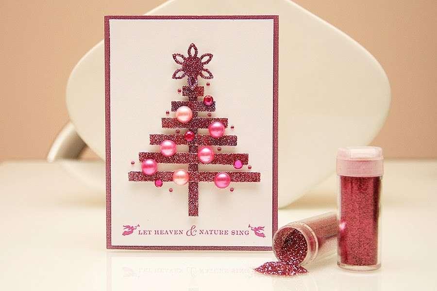 Famoso Come realizzare dei biglietti di auguri di Natale - PaperNews JD14